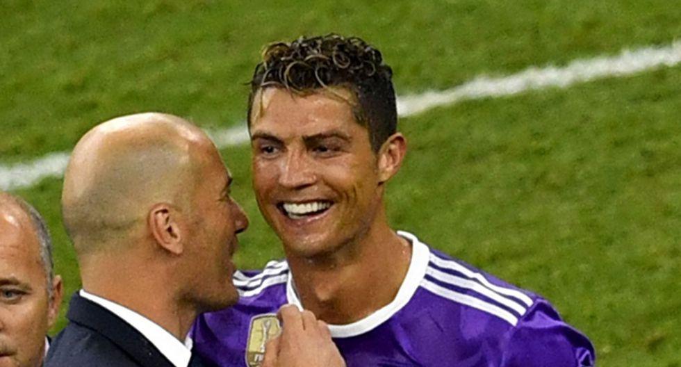 Cristiano Ronaldo y Zinedine Zidane fueron piezas claves en la obtención de la histórica duodécima Champions League del Real Madrid. (Foto: AFP)
