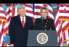 Donald Trump y su último discurso como presidente de EE.UU.