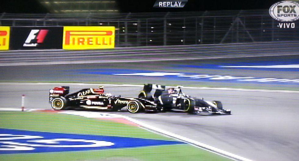 F1: la espeluznante volcadura de Gutiérrez en el GP de Bahréin  - 3