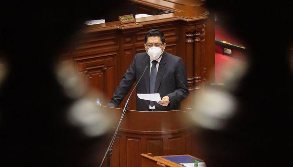 Vicente Zeballos asumió la presidencia del Consejo de Ministros el 30 de setiembre del 2019, el mismo día en que Vizcarra disolvió el Congreso de la República. (Foto: Difusión)