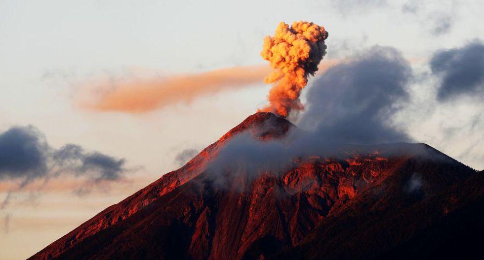 Guatemala: Volcán de Fuego comienza su quinta erupción del 2018. (AP)