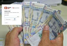 Cuenta DNI: LINK OFICIAL y cómo activarla para recibir el Bono Yanapay de S/350