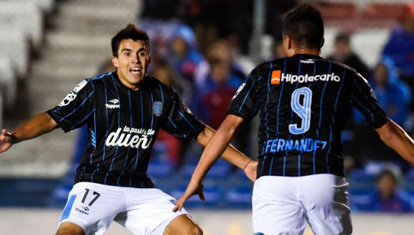 Racing igualó 1-1 ante Wanderers en Uruguay por Libertadores