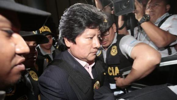 Edwin Oviedo será trasladado en próximas horas a penal de Lambayeque | VIDEO