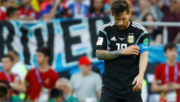 La selección argentina no tuvo el debut esperado ante una combativa selección de Islandia en la apertura del Grupo D del Mundial. Lionel Messi falló un penal. (Foto: AP)