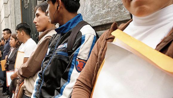 El proyecto estará enfocado en incentivar el empleo formal en los jóvenes, dijo Martín Vizcarra. (Foto: GEC)