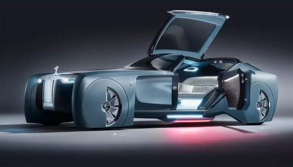 En 2016, Rolls-Royce presentó el Vision Next 100, un prototipo de auto eléctrico, y ahora anuncia Silent Shadow. (Imagen: Rolls-Royce)