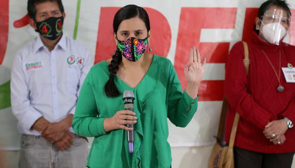 Verónika Mendoza es candidata presidencial de Juntos por el Perú. (Foto: GEC)