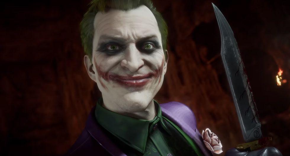 The Joker estará disponible en Mortal Kombat desde el 28 de enero. (Captura de pantalla)