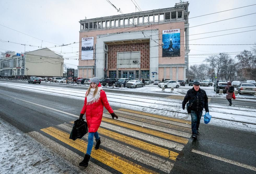 Rusia: Imponentes cines soviéticos de Moscú podrían ser demolidos por un proyecto inmobiliario. Foto: AFP