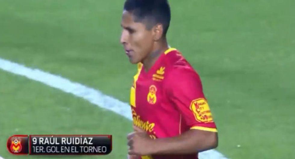 Raúl Ruidíaz acompañó y la tocó: así fue su primer gol del año 2018. (Foto: Captura)