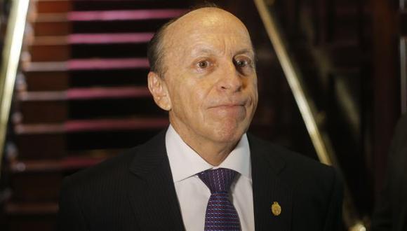 José Peláez dejará el Ministerio Público este fin de semana