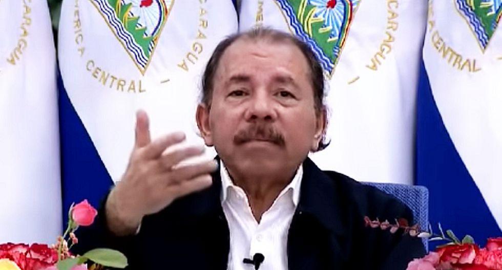 Daniel Ortega, presidente de Nicaragua. (Captura de video)