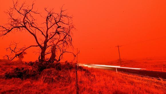Las autoridades australianas advirtieron que los devastadores incendios pueden continuar ardiendo por meses. (AFP / SAEED KHAN).