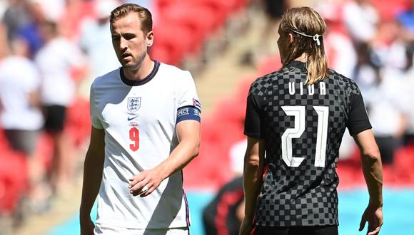 Inglaterra vs. Croacia: las imágenes del partido por la Eurocopa 2021   Foto: EFE