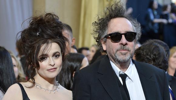 Tim Burton y Helena Bonham Carter se separan después de 13 años