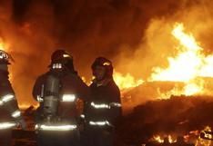Callao: incendio se registró esta madrugada cerca del penal Sarita Colonia