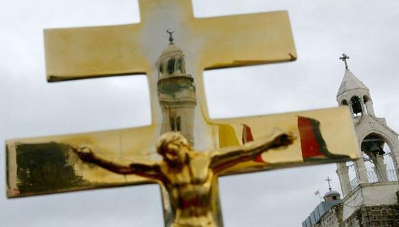 Los cristianos que habitan los territorios palestinos se acercan al 1% de la población. (Foto: Getty Images).