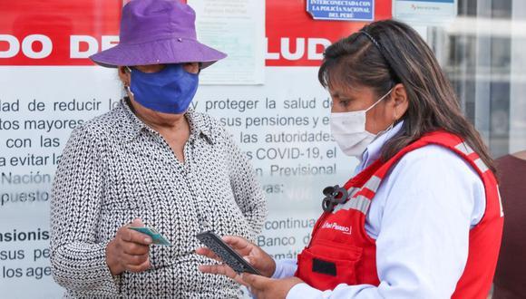 El Bono 600 se sigue entregando en todo el Perú. Consulta aquí si eres beneficiario. (Foto: Andina)