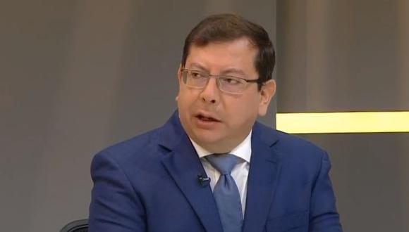 Juan Falconí, viceministro de Justicia y presidente de la Comisión de Gracias Presidenciales. (Captura de pantalla: TV Perú)