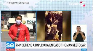 Caso Thomas Restobar: detienen a Judith Ortega, exarrendataria del local