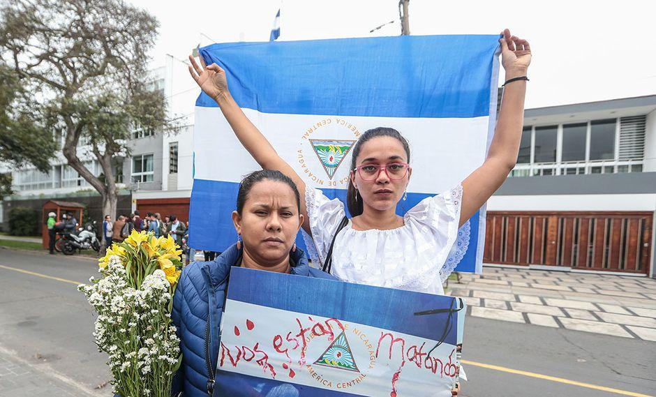 """""""Daniel Ortega tiene que renunciar o salir del poder como sea"""" (Foto: Alessandro Currarino / El Comercio)"""