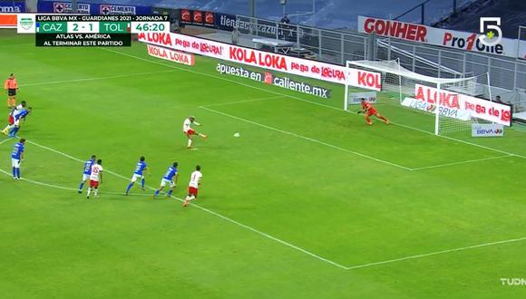 Goles de Toluca: Barbieri y Canelo convirtieron el 2-2 frente a Cruz Azul por la Liga MX   VIDEOS