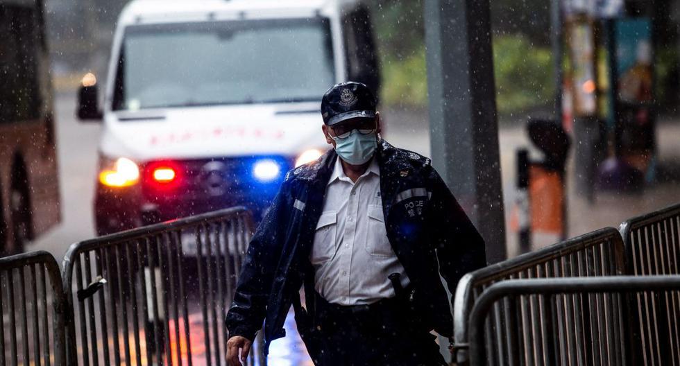 Hong Kong police investigate booing of China anthem at Olympics