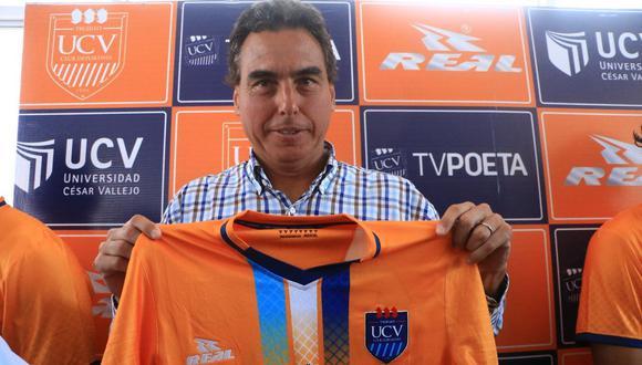 César Vallejo presentó a 'Chemo' del Solar como su nuevo técnico. (Foto: Johnny Aurazo)
