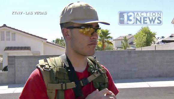 Conor Climo: Estadounidense ligado a supremacistas blancos quiso atacar una sinagoga y un bar LGBTQ en Las Vegas. (AP).