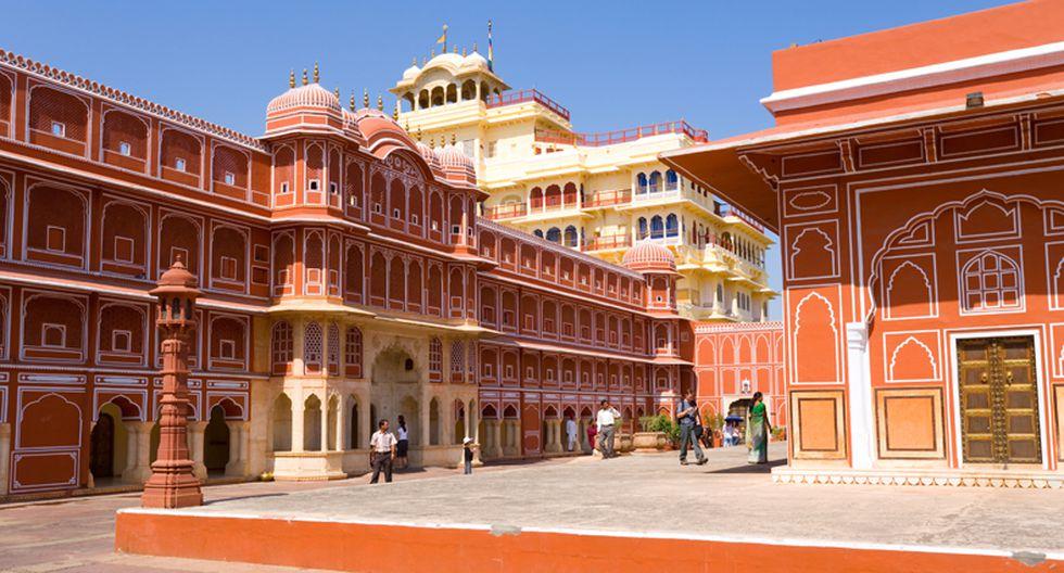 En la India se encuentra una hermosa ciudad de color rosa - 1