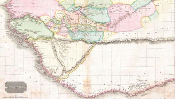Las montañas de Kong a menudo eran representadas como una barrera casi infranqueable. (Foto: Getty Images, vía BBC Mundo).