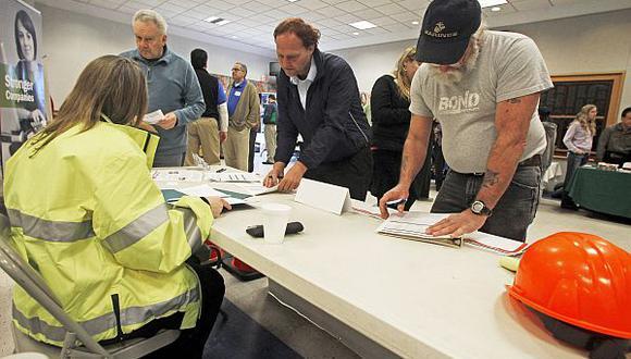 El desempleo se mantiene en 5% en Estados Unidos. (Foto: Agencias)