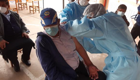 Minsa prevé vacunar a 5 millones 900 mil peruanos hasta julio, de acuerdo a la llegada de vacunas. (Foto: Minsa / Referencial)