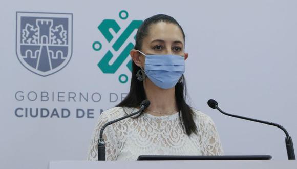 La jefa de Gobierno de Ciudad de México, Claudia Sheinbaum, durante su participación en una rueda de prensa en Ciudad de México (México). (Foto: EFE/Cortesía del Gobierno de la Ciudad de México).