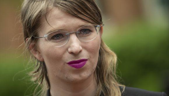 Chelsea Manning ya pasó siete años en una prisión militar por transmitir documentos militares y diplomáticos a Wikileaks en 2010. (Foto: AFP)