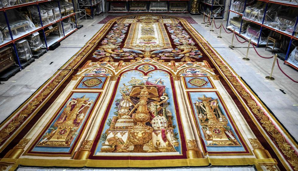 El valioso tapiz de Notre Dame, afectado por el agua, está fuera de peligro. (Foto: AFP)