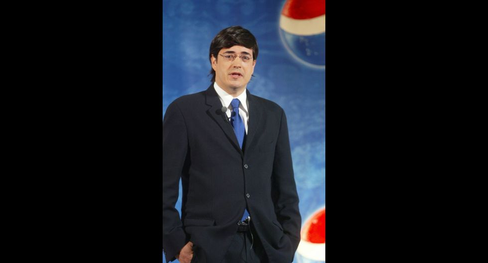 Jaime Bayly en el 2005. Foto: El Comercio.