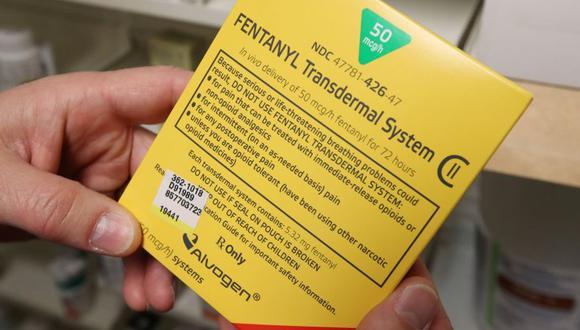 El fentanilo es un medicamento opioide que se vende con receta médica. (Foto: Reuters)