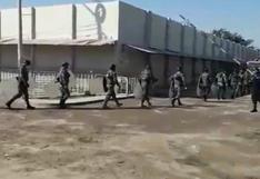 Presos se amotinan en penal de Cachiche de Ica y exigen que les tome la prueba del coronavirus