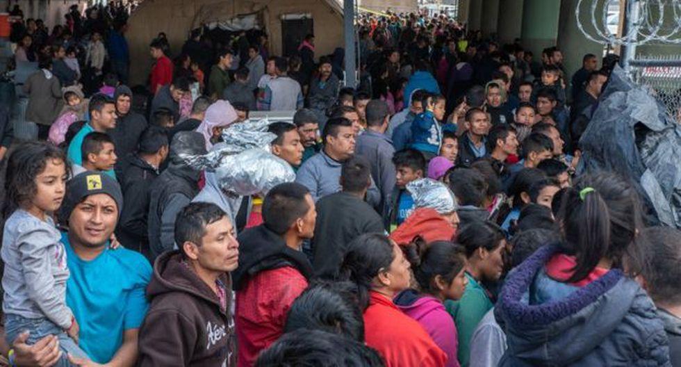 Las autoridades migratorias de El Paso, Texas, tienen más de 13.000 migrantes bajo su custodia. (Getty Images vía BBC)