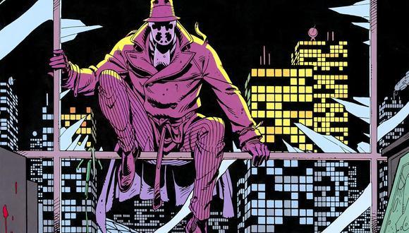 """""""Watchmen"""". Rorschach, uno de los persobnajes más enigmáticos del cómic original. Foto: DC Comics."""