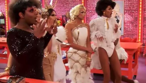 "Inesperado episodio en ""RuPaul's Drag Race"" (Foto: Logo)"