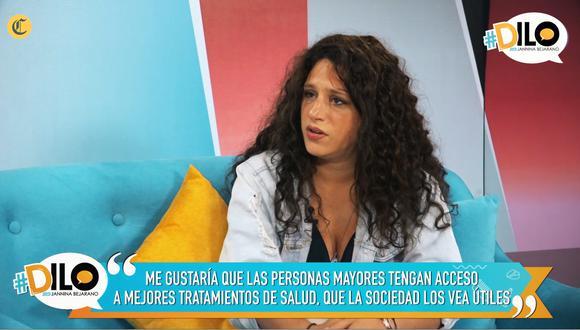 Gisela Ponce de León confiesa que, a partir de cumplir los 30 años se ha puesto a pensar en la vejez.