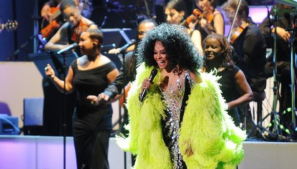 Grammy 2019: Diana Ross tendrá una presentación especial en la gala (Foto: AFP)
