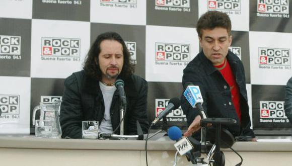 Los Prisioneros: Jorge González y Miguel Tapia se reencontraron