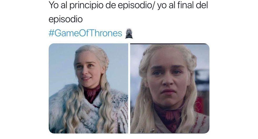 """Memes del cuarto episodio de la última temporada de """"Game of Thrones"""". (Foto: Difusión)"""
