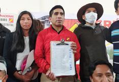 Perú Libre y otro objetivo en medio de actividades pro referéndum: la candidatura de Vladimir Cerrón al 2026