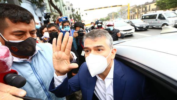 El Poder Judicial retomará este lunes audiencia de impedimento de salida del país contra Julio Guzmán. (Foto: GEC)