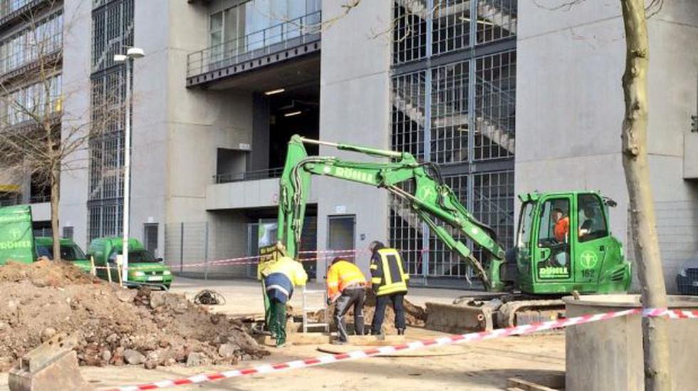 Bomba de II Guerra Mundial hallada cerca al estadio de Dortmund - 2